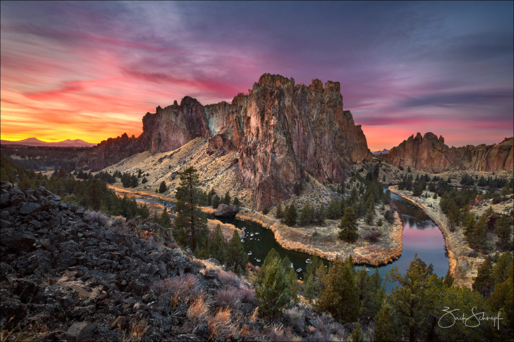 Sunset, Smith Rock, Oregon