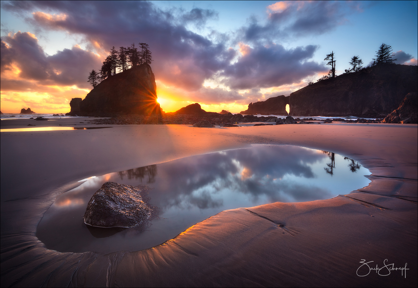 Second Beach, Washington