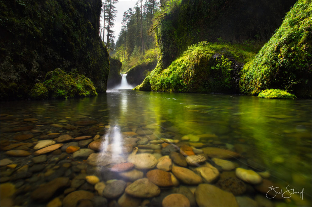 Punchbowl Falls, Eagle Creek, Oregon