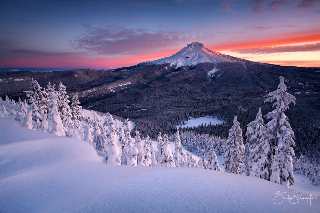 Winter, Mt Hood, Oregon
