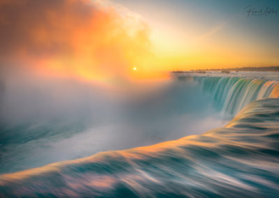 Images from Niagara Falls from the Canadian Side in Ontario Canada
