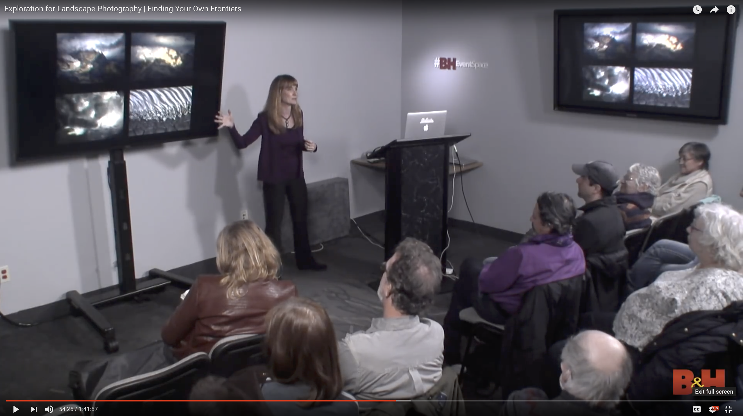 Free video of Erin Babnik's Exploration Talk at the B&H Event Space