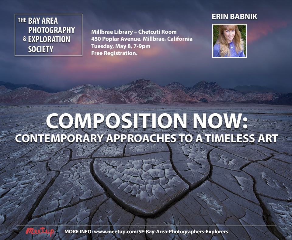 Erin Babnik's Composition Talk Returns to the Bay Area