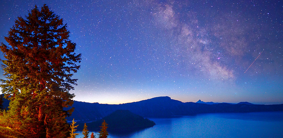 Night Sky Photography at Crater Lake National Park with Zack Schnepf and Christian Heeb