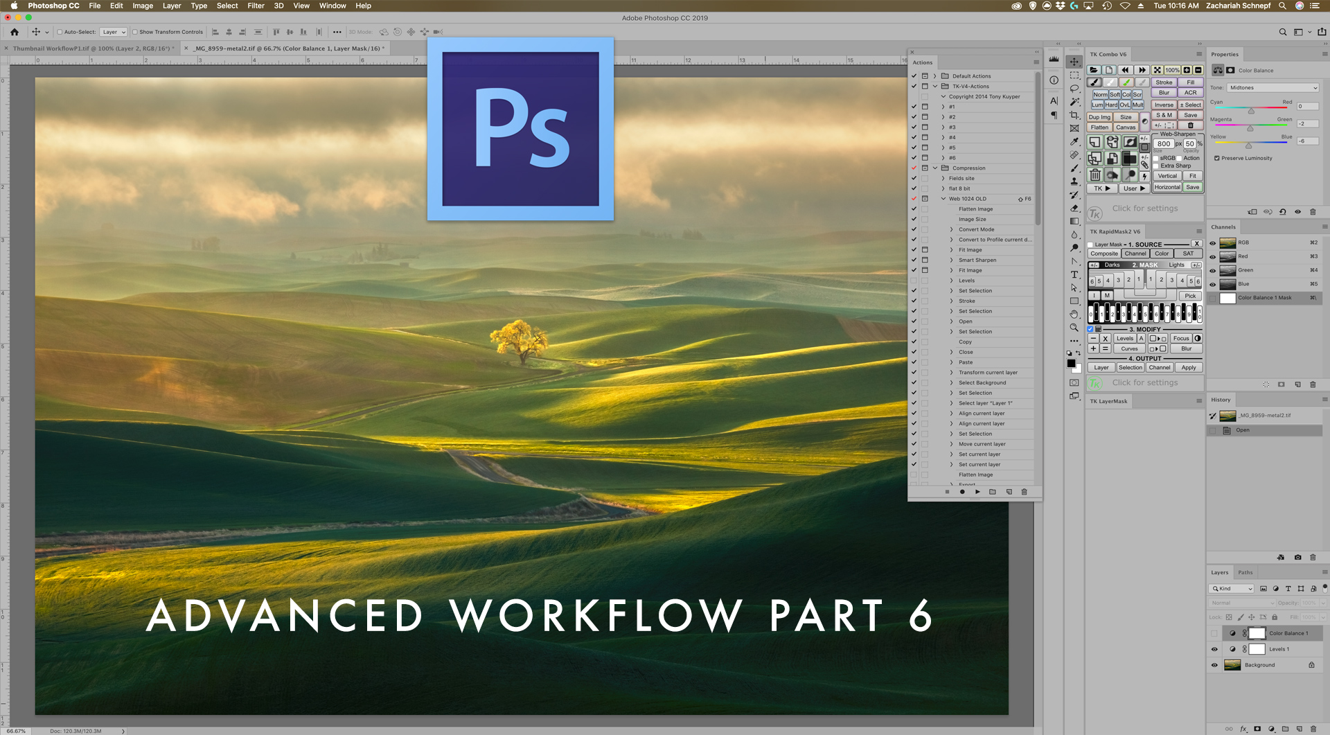 Building Actions to Automate Repetitive Tasks in Photoshop