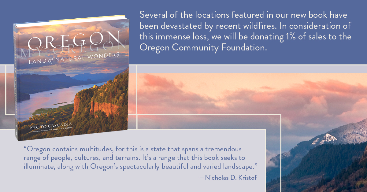 1 percent to Oregon Community Foundation